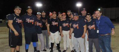 Tigres campeón de la Asociación municipal de Softbol de SLRC