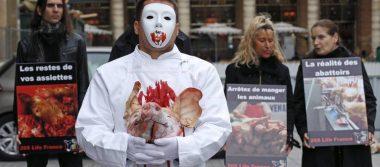 Carniceros, en la mira de veganos radicales