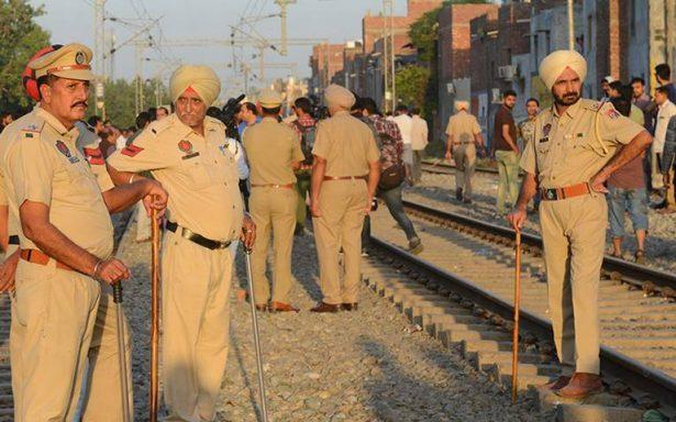 Aumenta a 59 la cifra de muertos por accidente de tren en India