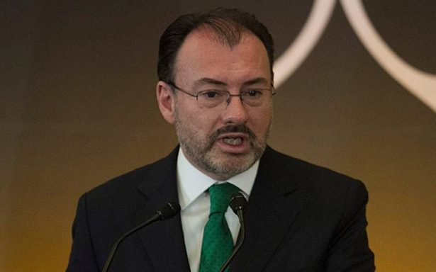 Prioridad de México, proteger integridad de los miembros de la caravana: Videgaray
