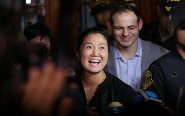 Tribunal peruano libera a Keiko Fujimori