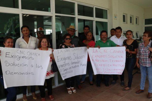 Cierra CNC delegaciA?n de Sagarpa en Oaxaca