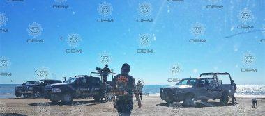 Se desploma helicóptero de la Marina en aguas del Golfo de Santa Clara