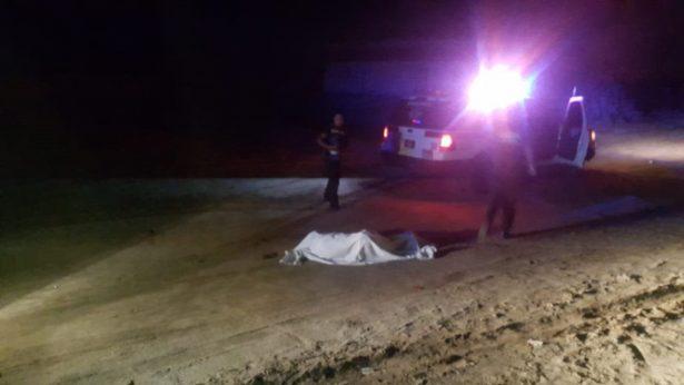 Muere atropellado un hombre carretera a Riito