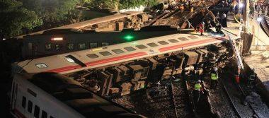 Accidente de tren en Taiwán deja 22 muertos y 171 heridos