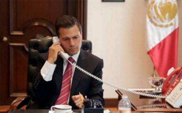 Peña Nieto conversa con presidentes de Guatemala y Honduras ante crisis migratoria