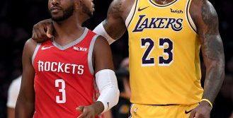 Suspenden a jugadores tras pelea entre Rockets y Lakers