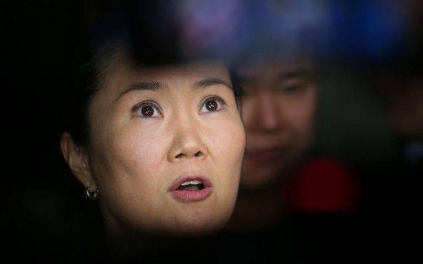 Detienen a Keiko Fujimori por recibir dinero ilegal de Odebrecht a su campaA�a electoral