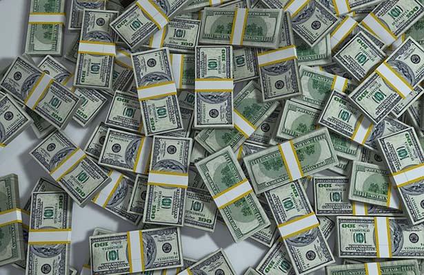 Reservas internacionales registran descenso semanal de cinco millones de dólares