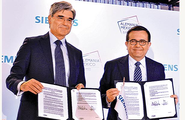 Firman México y Alemania acuerdo de inversión por 200 millones de dólares